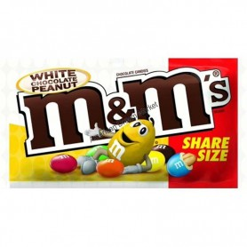 M&m's white chocolate peanut sharing size