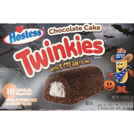 Hostess twinkies chocolate cake