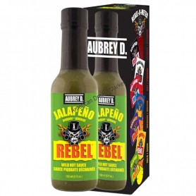 Aubrey D rebel jalapeno hot sauce