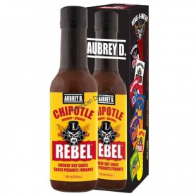 Aubrey D rebel chipotle hot sauce