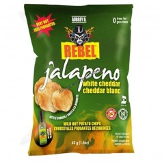 Aubrey D rebel jalapeno white cheddar chips