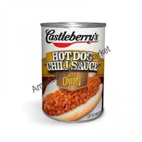 Castleberry's hot dog chili sauce