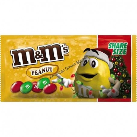 M&m's peanut holiday share size