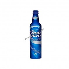 Bière bud light bouteille alu
