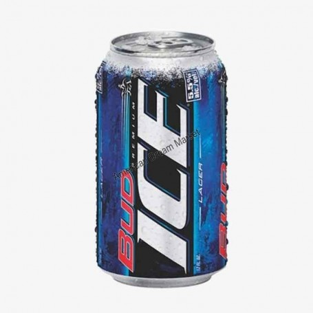 Bud ice can
