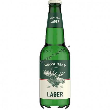 Bière moosehead lage bouteille