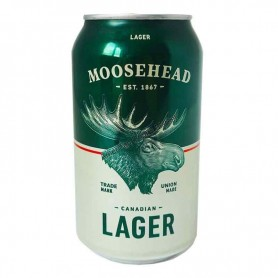 Bière moosehead lage can