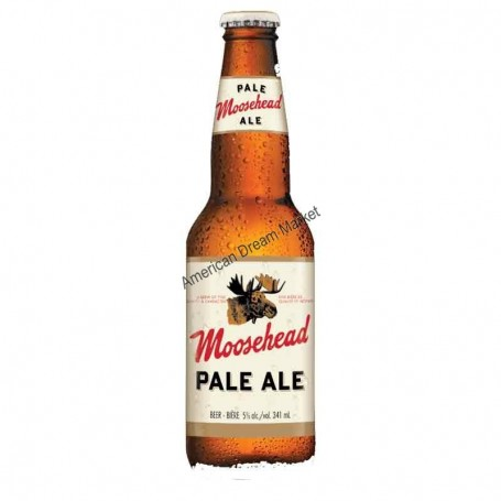 Bière moosehead  pale ale bouteille
