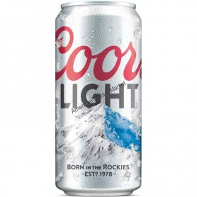 Bière coors light can