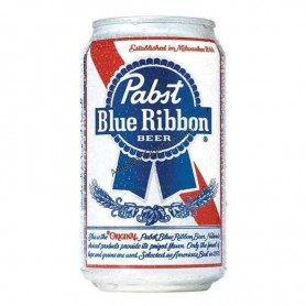 Bière pabst blue ribbon can