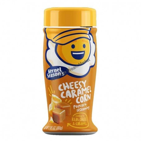 Kernel season's popcorn seasoning cheesy caramel corn