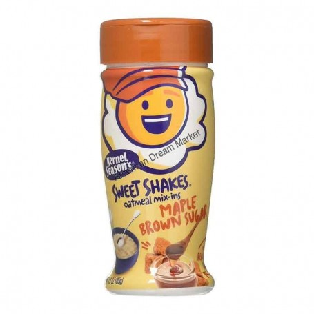 Tasty shakes oatmeal mix-ins maple brown sugar