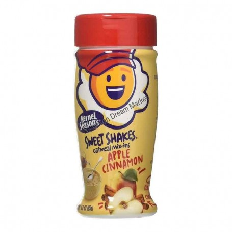 Tasty shakes oatmeal mix-ins apple cinnamon