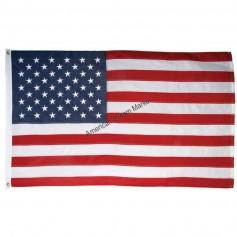 Drapeau américain brodé 150x90 cm