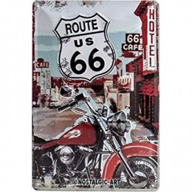 Route us 66 moto 3D MM