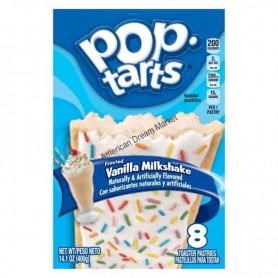 Kellogg's Pop tarts vanilla milkshake