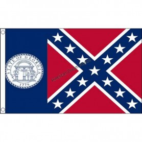 Flag georgia (old)
