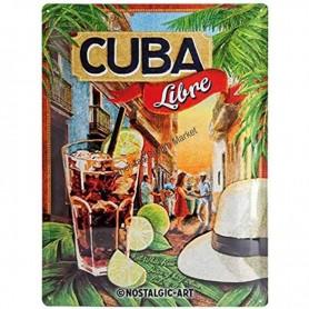 Plaque cuba libre