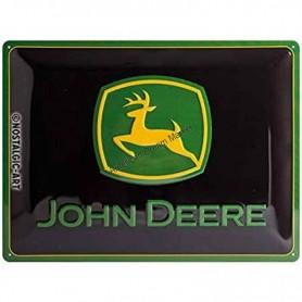 Plaque john deere logo