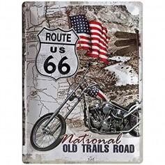 Plaque route us 66