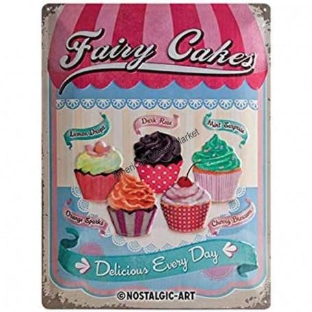 Plaque fairy cakes