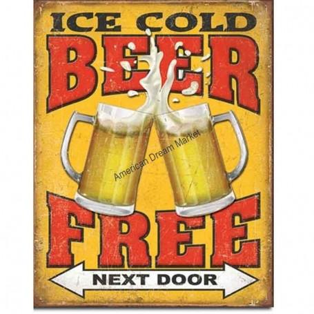 Free beer next door