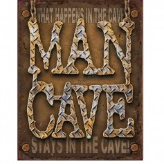 Man cave diamond plate