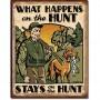 Hunt what happens