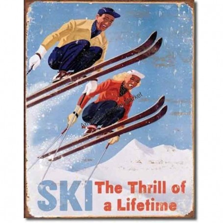 Ski thrill of a lifetime