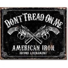 Don't tread on me american iron