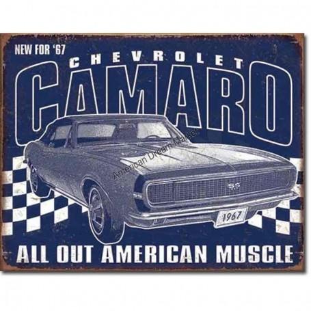 Camaro 1967 muscle