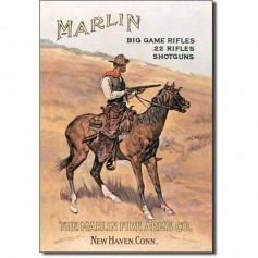 Marlin cowboy on horse