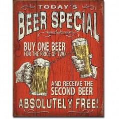 Todays beer special