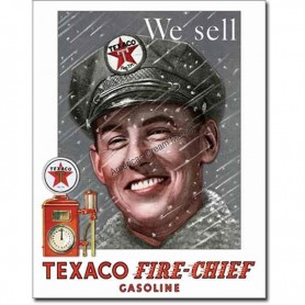 Texaco pump attendant