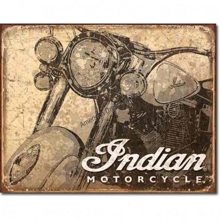 Indian antiqued