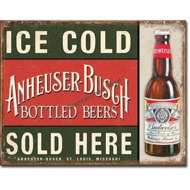 Anheuser busch ice cold