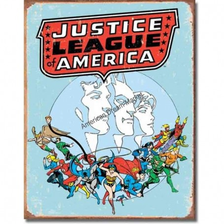 Justice league retro