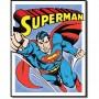 Superman retro panel