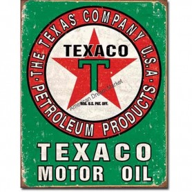 Texaco oil weathered