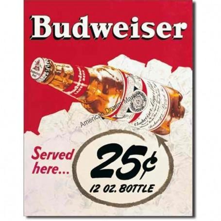 Budweiser 25cents