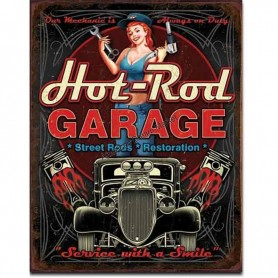Hot rod garage piston