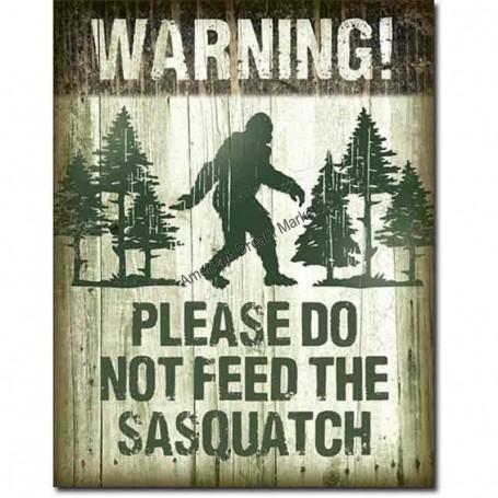 Sasquatch don't feed