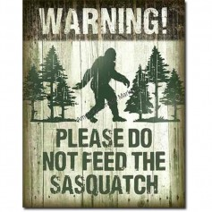 Sasquatch don't feed