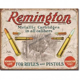 Remington for rifles and pistols