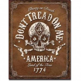 Don't tread on me black jack