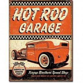 Hot rod garage rat rod