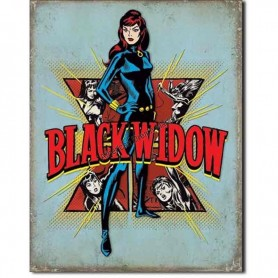 Black widow retro