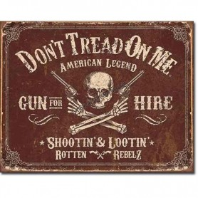 Don't tread on me gun for hire