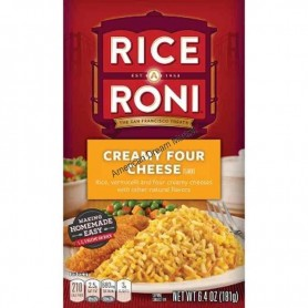 Rice o roni creamy four cheese