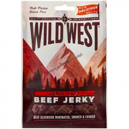Wild West beef jerky original 85g